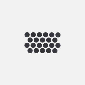 Yapışkanlı Vida Kapağı Siyah