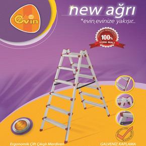 Evin New Ağrı 4x2 Basamaklı Merdiven