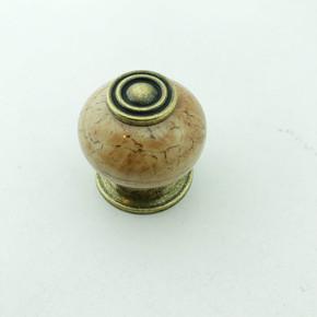 Antik Dekor Kahve Kulp Düz 0611