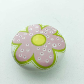 Ufo Düğme Pembe Çiçek Çocuk Serisi