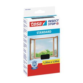 Tesa Pencere Sineklik Standart Cırt Bantlı Siyah