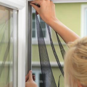Tesa Kapı Sineklik Standart Cırt Bantlı Beyaz