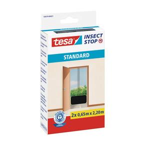 Tesa Kapı Sineklik Standart Cırt Bantlı Siyah 2 Adet 0,65Mx2,2M