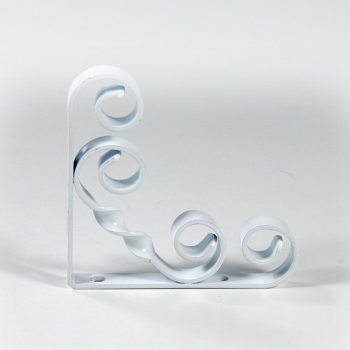 Endpa Burgulu Raf Altı Konsol Beyaz 30 cm