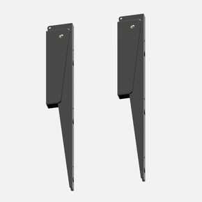 45 cm Konsol 2'li Siyah