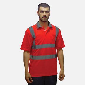 Reflektif T-Shirt Polo Yaka