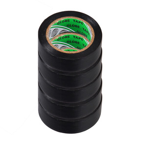Globe Tape 5'Li 10 m x 19 mm İzole Bant Siyah