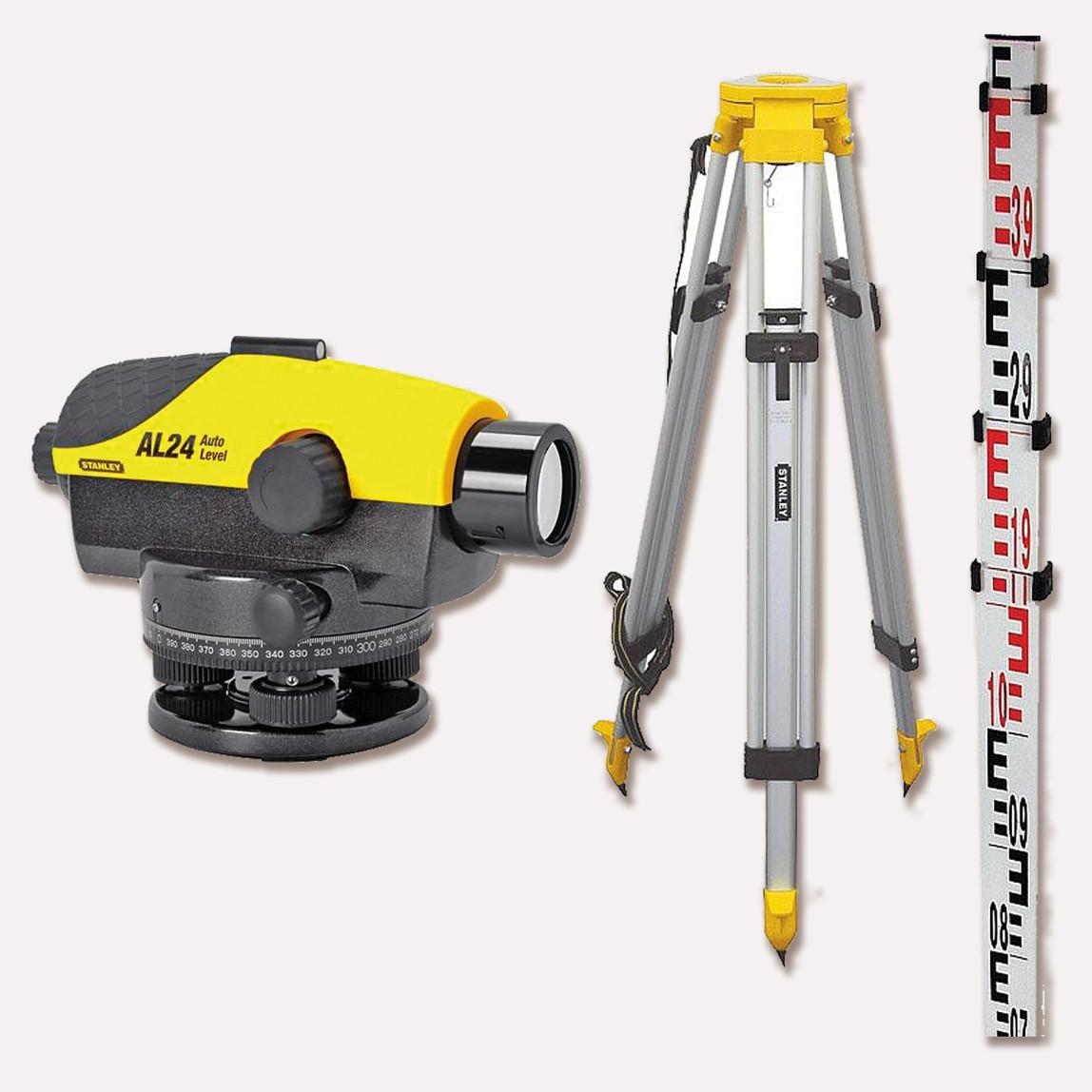 Stanley 1-77-160 AL 24GVP Lazer Optik Nivo