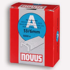 Novus A Tip 53/6 mm 5000'li İnce Zımba Teli