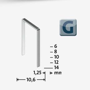 Geniş Zımba Teli 11/10  galvaniz  600 Adet