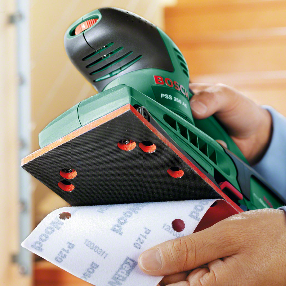 Bosch Pss 250Ae Titreşimli Zımpara