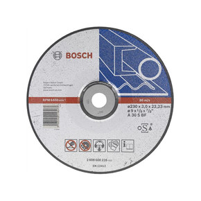 Bosch 115 mm Metal Düz Kesme Diski
