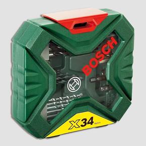 Bosch X-Line 34 Parça Aksesuar Seti
