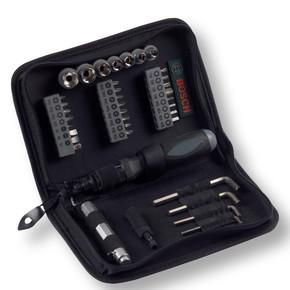 Bosch 38 Parça Titanyum Compact Lokma Vidalama Set