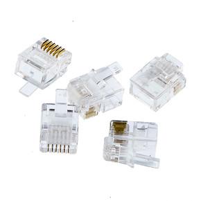 6 P-6 C Telefon Plug 5 Adet