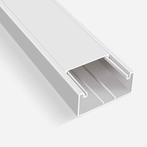 Kablo Kanalı 2M Beyaz 100X50 mm