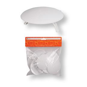 Viko Plastik Ayaklı Lüks Buat Kapağı(10'Lu Paket)