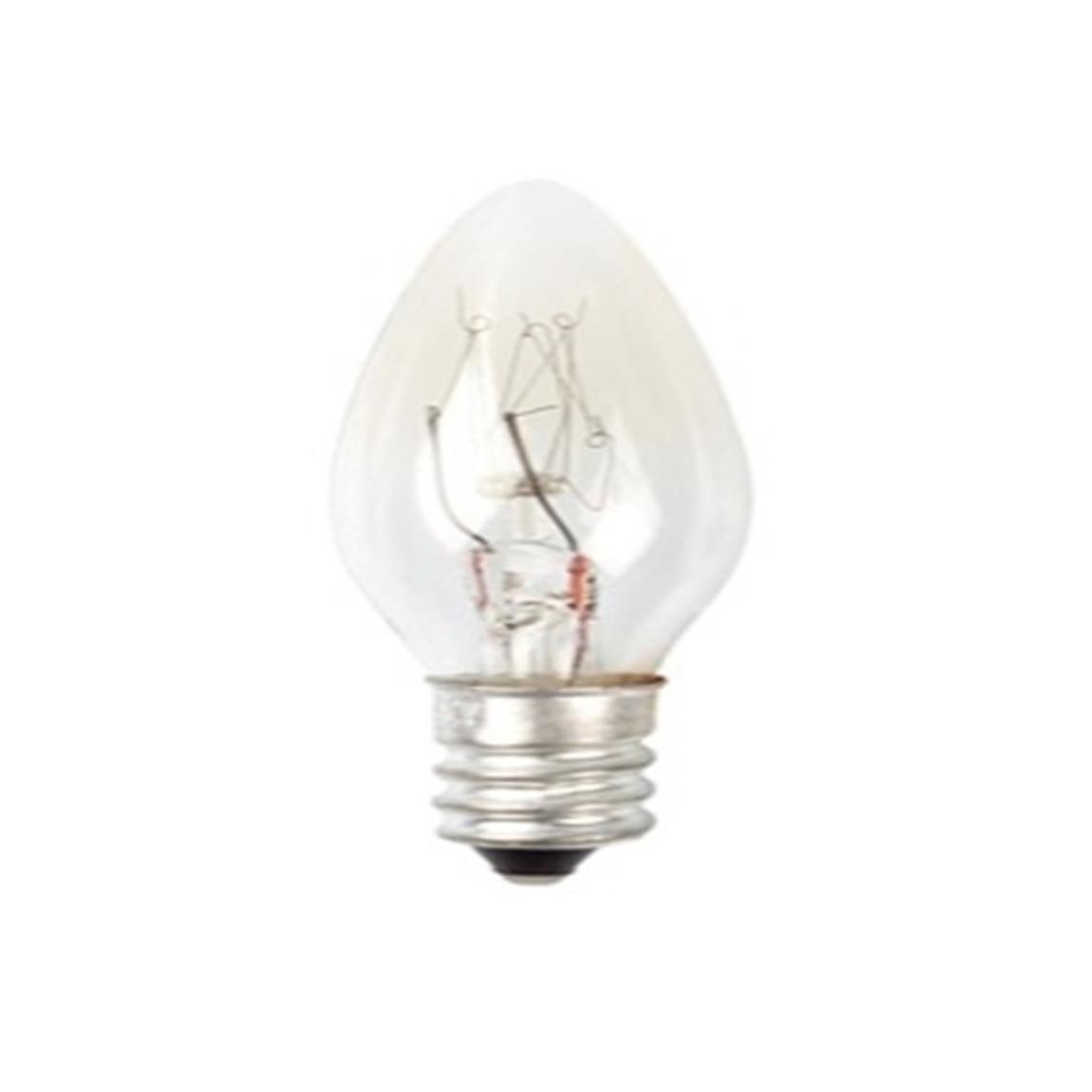 2'li E14 Gece Lambası Ampulü Şeffaf