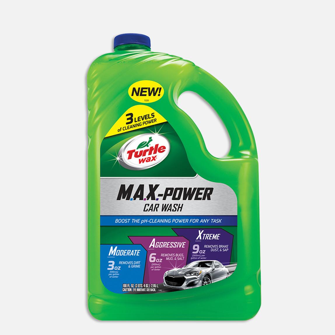 Turtle Wax M.A.X. Power Şampuan 2,95 Lt