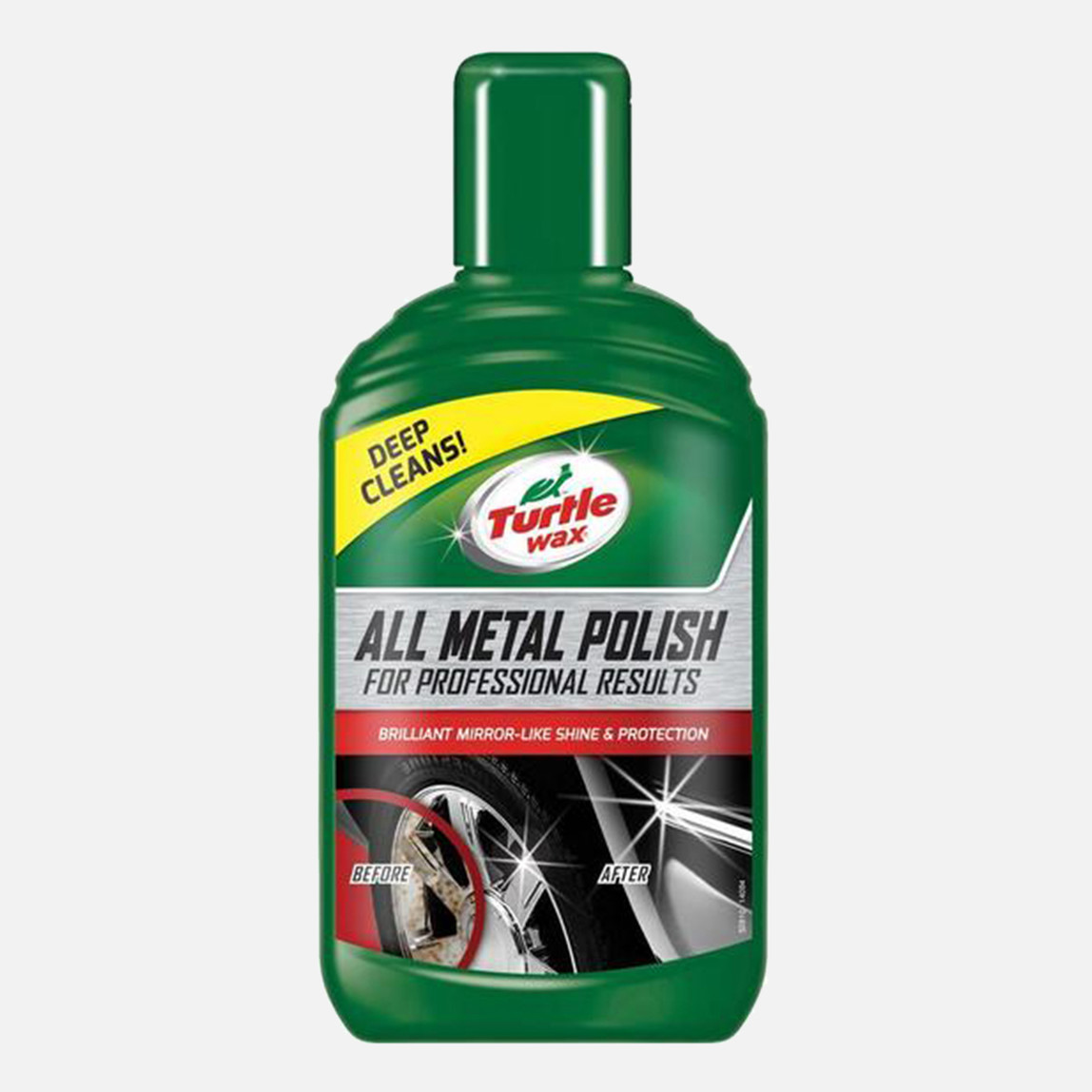 Turtle Wax 300 ml Krom Ve Metal Parlatıcı