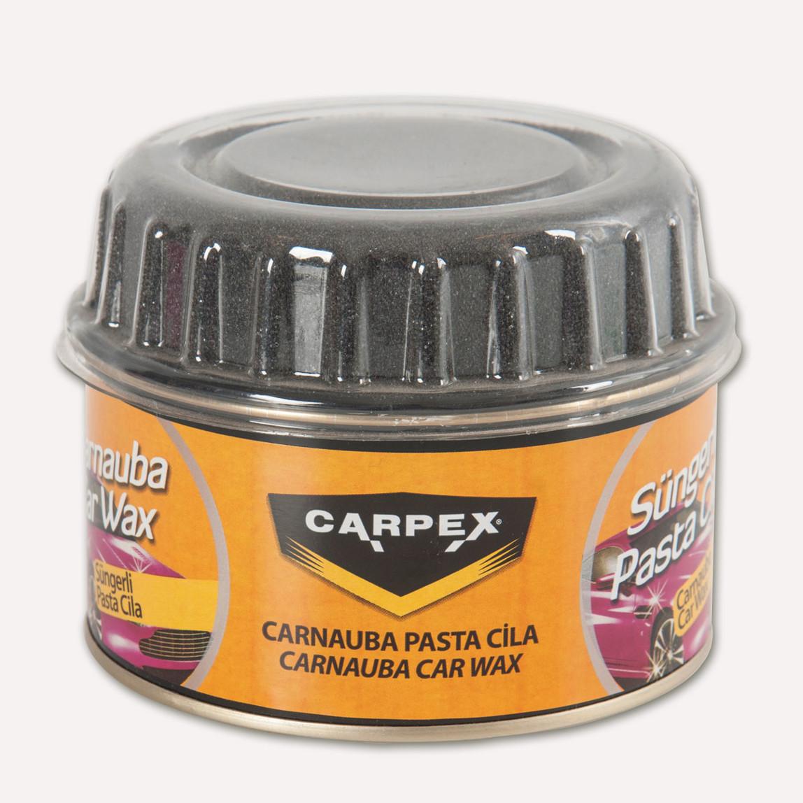 Carpex Carnauba Süngerli 250 gr Pasta Cila