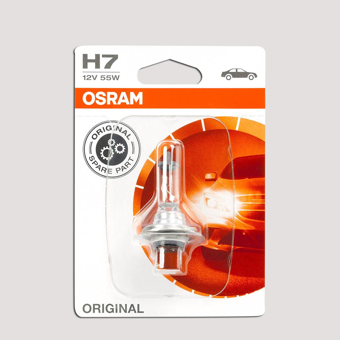 Osram H7 64210-01B Halojen Oto Ampul