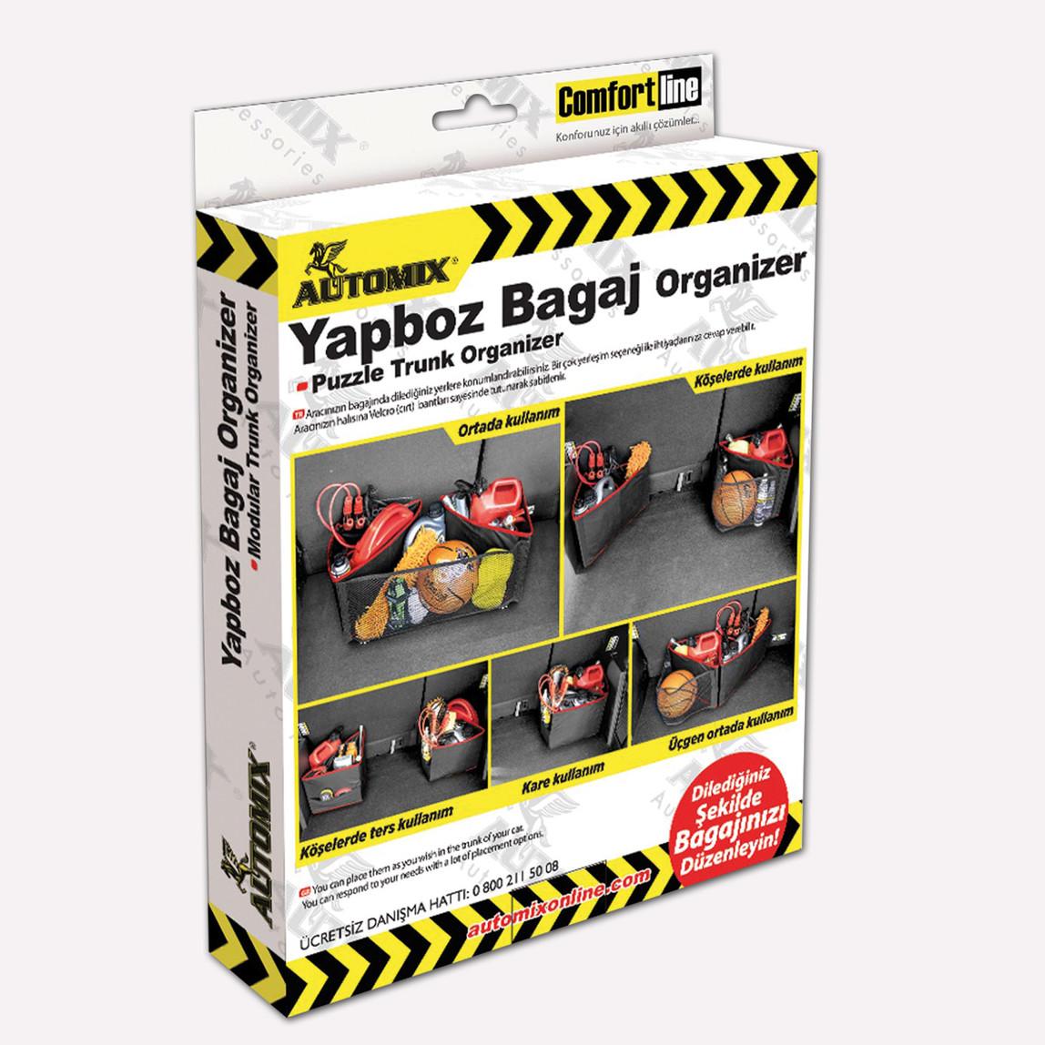 Automix Yap-Boz Bagaj Organizer