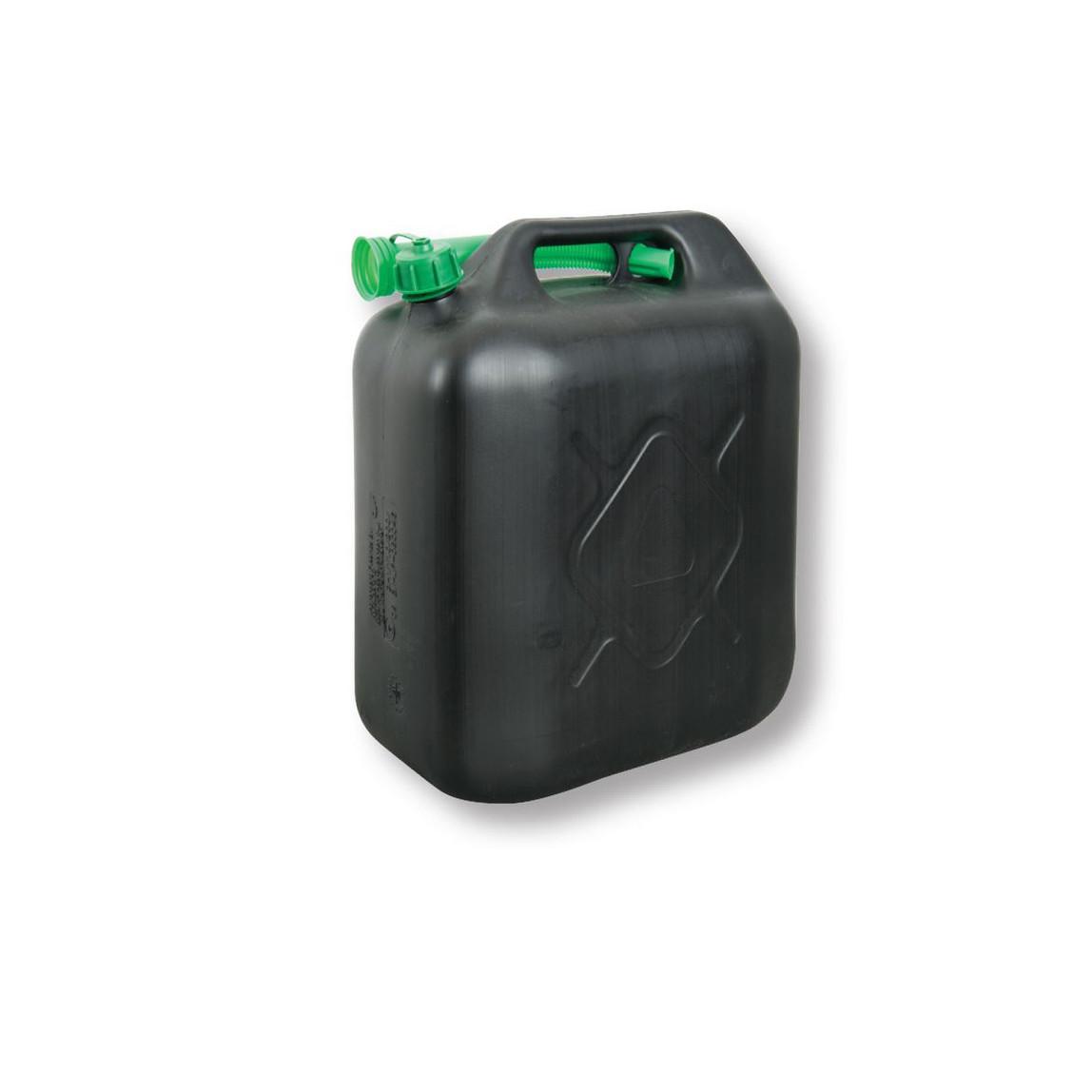 İnter Union Plastik Benzin Bidonu 20 Lt Siyah
