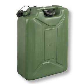 Plastik Benzin Bidonu 20 Lt Yeşil