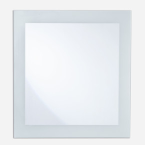 Dikdörtgen Rodajlı Kumlamalı Ayna