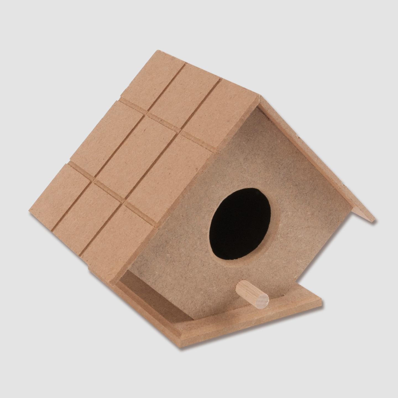 Boyanabilir Kus Yuvasi Kucuk Bauhaus