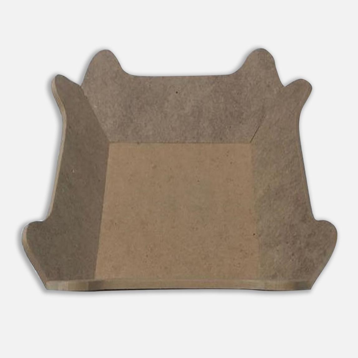 Ekmeklik Köşeli 26x26 cm