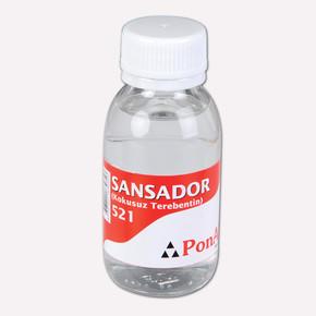 PonArt Sansador 521 100 ml Kokusuz Terebentin