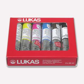 Lukas 6482 6'lı Studio Yağlı Boya Seti
