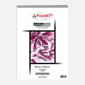 10 150 Painting Blok 35x50 cm 15 Yaprak