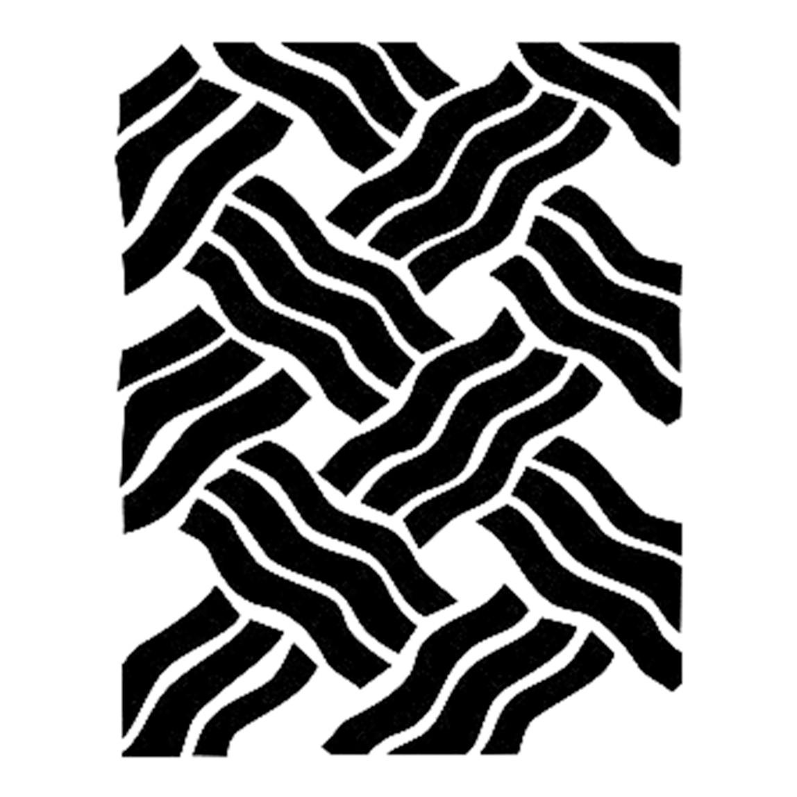 Bn Stencil 20X30 cm
