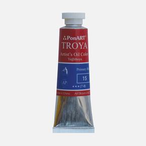 Troya Yağlıboya 37 ml Tüp 15 Primer Mavi