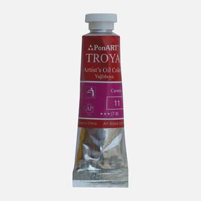 Troya Yağlıboya 37 ml Tüp 11 Alizarin Crimson