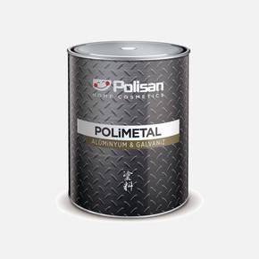 Polımetal Alu& Galvanız Boyası 802 Beyaz     0,75Lt