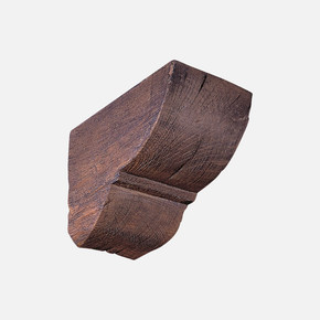 Pu Ağaç Konsol Koyu Meşe 12x12 cm