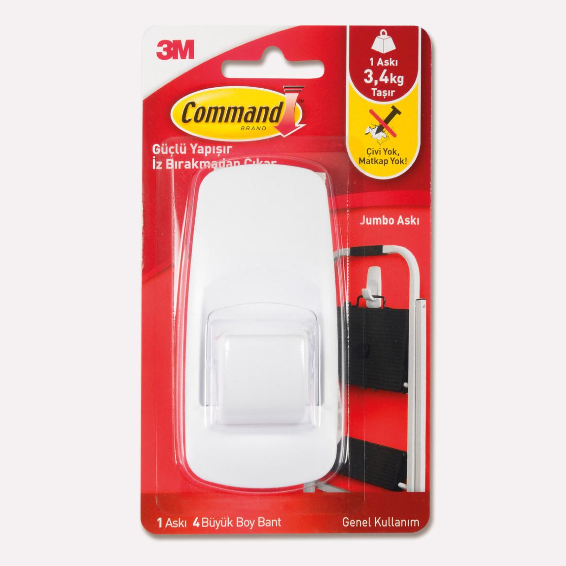 3M Command 17004 Büyük Boy Jumbo Askı