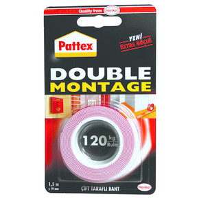 Tape Double Montaj Bandı