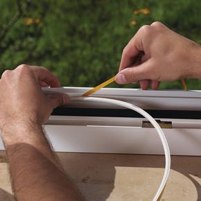 Kapı Pencere İzolasyon Profili D Tipi 6 m