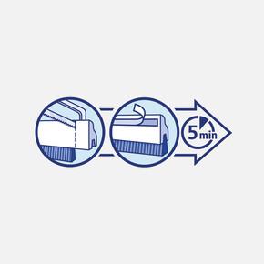 Tesamoll Standart Kapı Altı Hava Akımı Önleyici Fırça