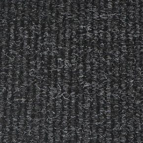 Mega Velür Paspas Lastikli Siyah Kırçıllı En 2 m