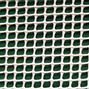 C-104 Beyaz 1MT X 25MT 5X5MM UV Filtreli Yüksek Dayanıklı Plastik Çevirme Çiti (HDPE)