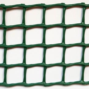 C-114 Yeşil 1MT X 25MT 10X10MM UV Filtreli Yüksek Dayanıklı Plastik Çevirme Çiti (HDPE)