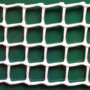 C-114 Beyaz UV Filtreli Yüksek Dayanıklı Plastik Çevirme Çiti