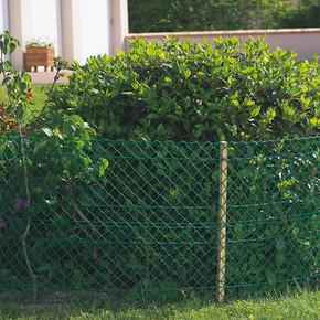 Floranet Yeşil 40CM X 25MT 23X23MM UV Filtreli Yüksek Dayanıklı Plastik Çevirme Çiti (HDPE)