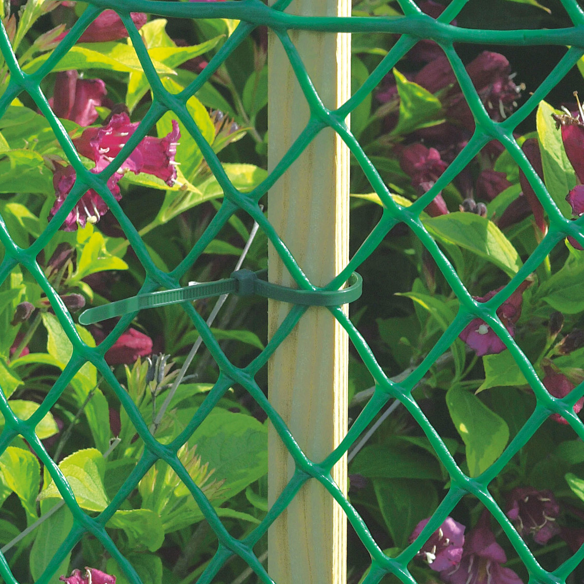 Floranet Yeşil 60cm Filtreli Yüksek Dayanıklı Plastik Çevirme Çiti